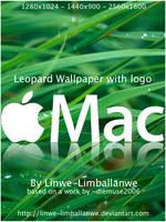 Leopard with Mac Logo by Linwe-Limballanwe