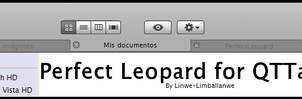 Perfect Leopard for QTTabBar