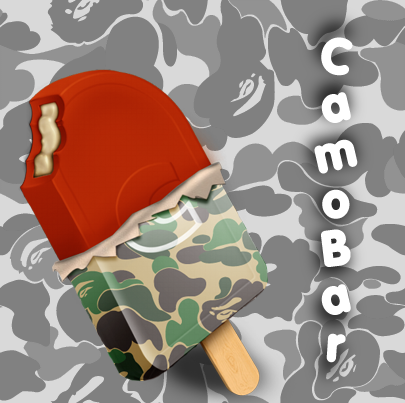 Bape x Candy bar by illmaticv60p