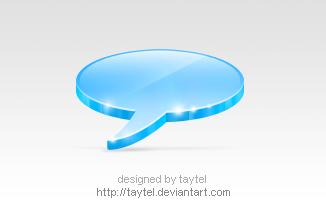 Talk icon by taytel