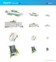 Apple icon pack 01 by taytel