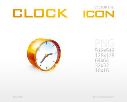 Clock by taytel