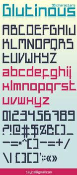 Glutinous font