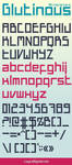 Glutinous font by taytel
