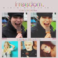 PSD Freedom. by livinginthesky