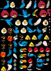 Angry Birds Rio by magicjohnson92