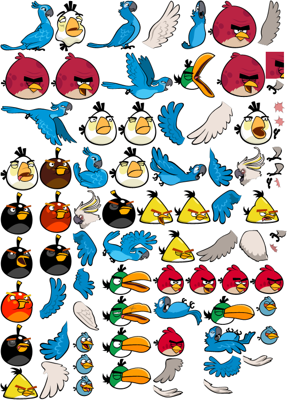 Angry Birds Rio by magicjohnson92 on DeviantArt