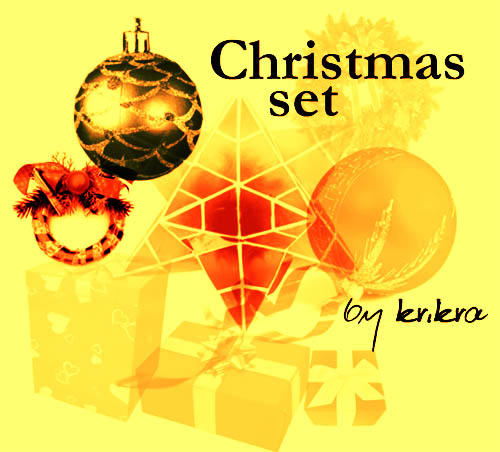 Christmas Set by krikra