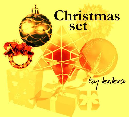 Christmas Set by krikra