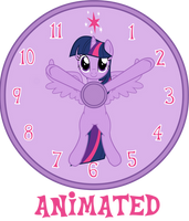 MLP CLOCK - Update 2 by CheshireTwilight