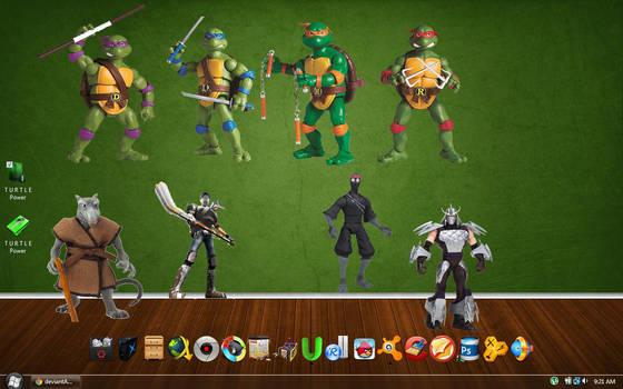 Teenage Mutant Ninja Turtles Action Figure Icons