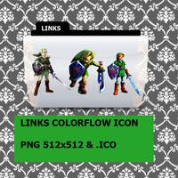 Links Colorflow Folder Icon