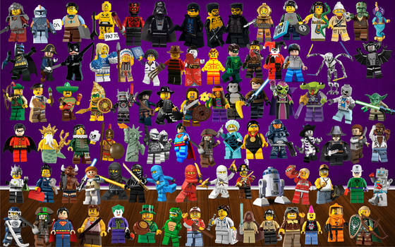 Lego Figure Icons