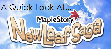 A Quick Look at MapleStory: New Leaf Saga by PentiumMMX