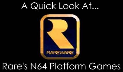 A Quick Look at Rare's N64 Platform Games
