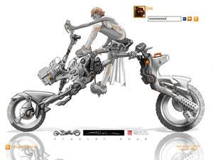 SHURIKEN vehicle concept Logon