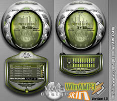 Official VAGDesign WinAMP by makrivag