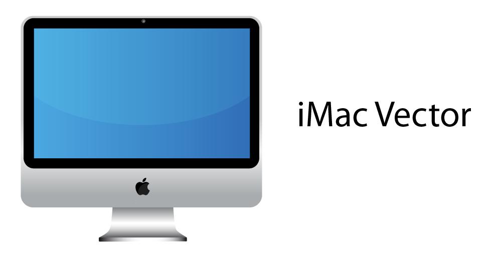 iMac Vector by LukeFielding