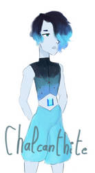 Genderbend : Chalcanthite (He/him) by alicegirlbakugan
