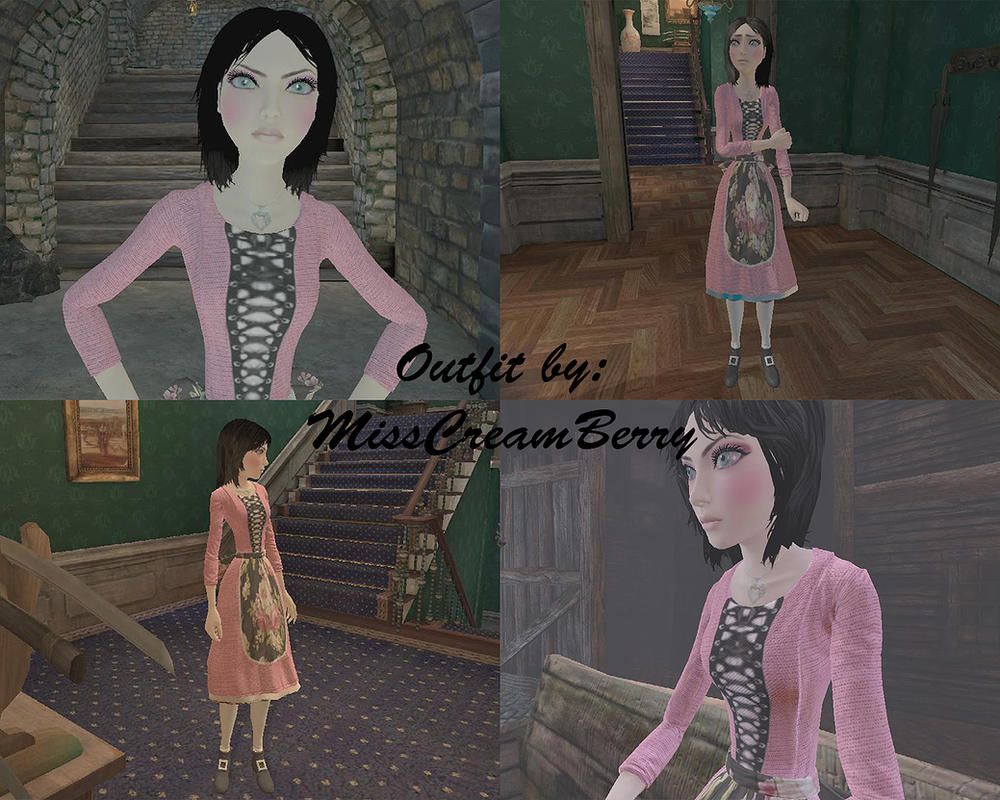 Alice Madness Returns - Barbie Doll Outfit by MissCreamBerry