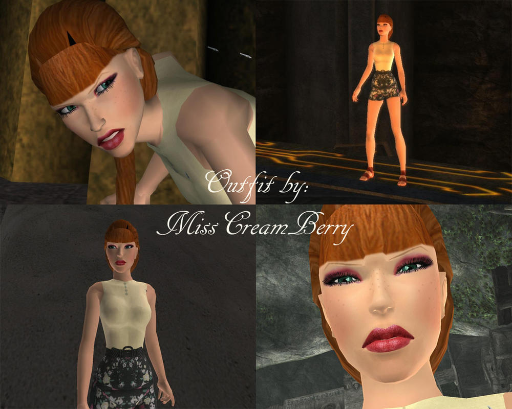 Tomb Raider Anniversary Outfit by MissCreamBerry