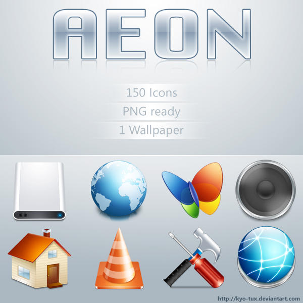 Aeon for iconpackager by echo615