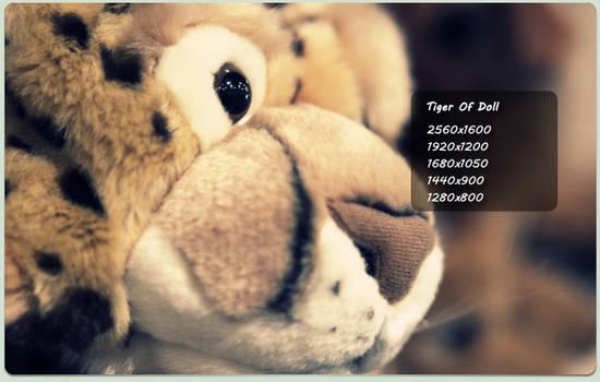 tiger of doll