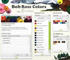 Bob Ross Colors for ArtRage