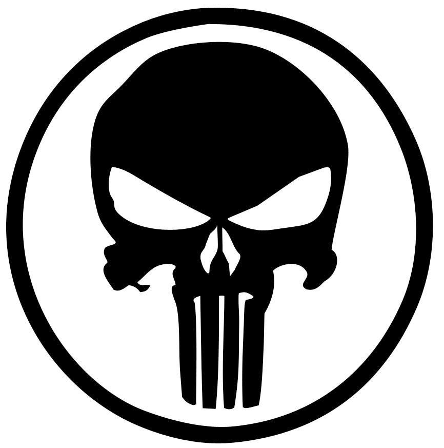 Punisher logo by Woodnutiam on DeviantArt