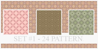 Pattern - Set 1 by xVanillaSky