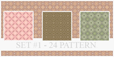 Pattern - Set 1 by xVanillaSky