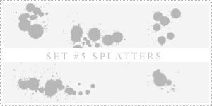 Splatter Brushes by xVanillaSky