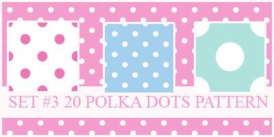 Polka Dots Pattern by xVanillaSky
