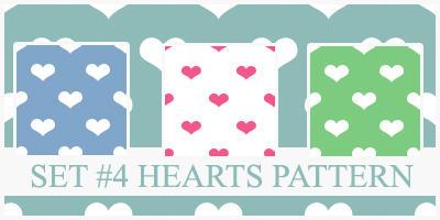 Hearts Pattern by xVanillaSky