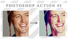 Photoshop action 2 by xVanillaSky