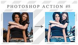 Photoshop action 8 by xVanillaSky