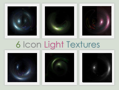 6 Icon Light Textures by xVanillaSky