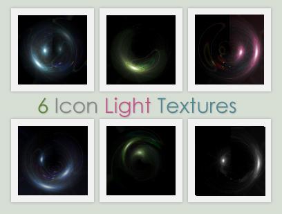 6 Icon Light Textures by xVanillaSky