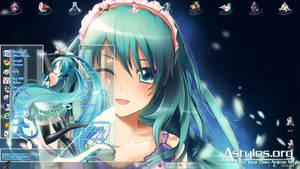 win7 Hatsune Miku v10 by hoangtush