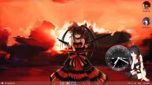 Visual Styles 8~Theme Anime Win8 Tokisaki Kurumi