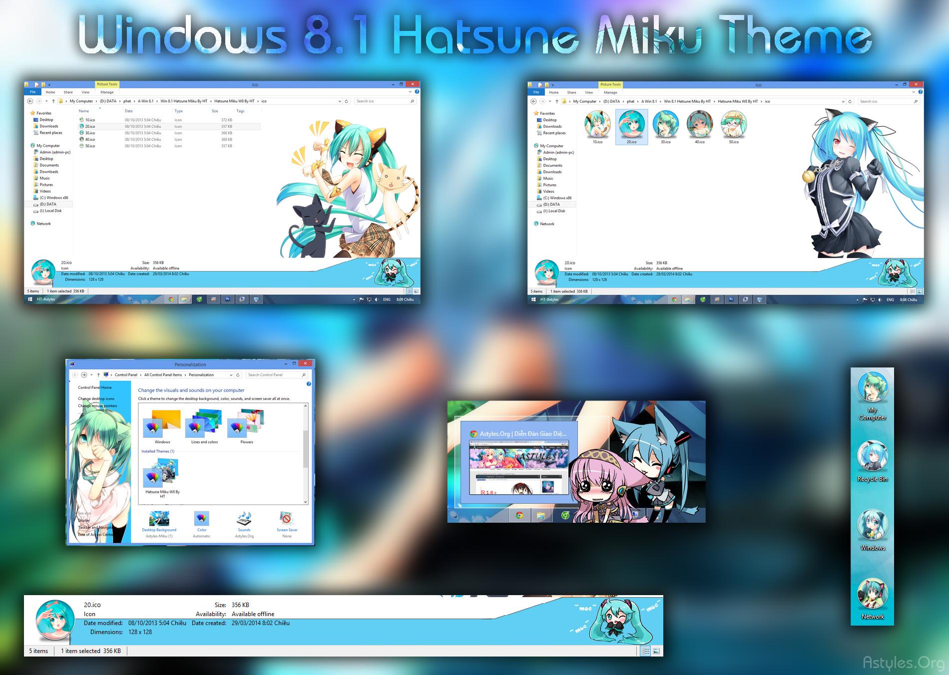 Windows 7 anime skin pack free download | Best Windows 10