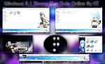Visual Styles 8~Gun Gale Online~Sinon Anime Theme