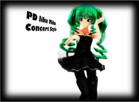 MMD [PD Like] Concert Like Hatsune Miku by iiRichie