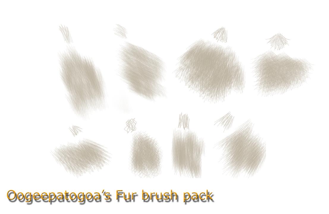 Fur brush pack by Oogeepatogoa