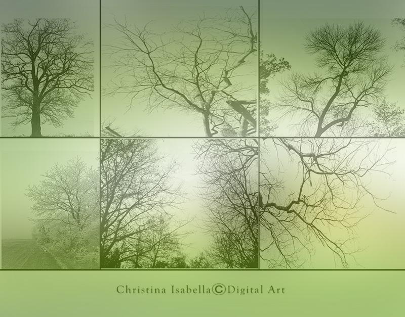 Tree Brush Pack by ChristinaIsabella