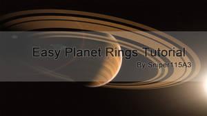 Easy Planet Rings Tutorial