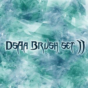 DsAa Brush set 2 by aazumak