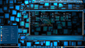 Windows 7 Themes: AquaV2 Dark and Light themes by TheBull1