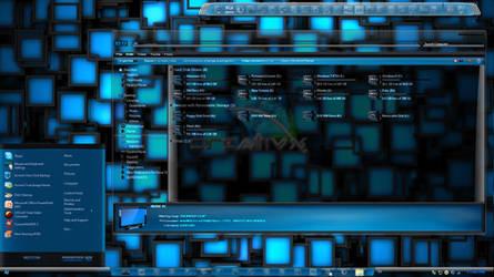 Windows 7 Themes: AquaV2 Dark and Light themes by TheBull1