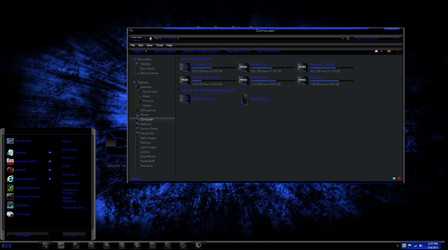 Windows 8 themes RazerBlue8 by TheBull1